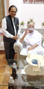 Dhyanacharya Ajay Jain With Roop Chand ji Maharaj
